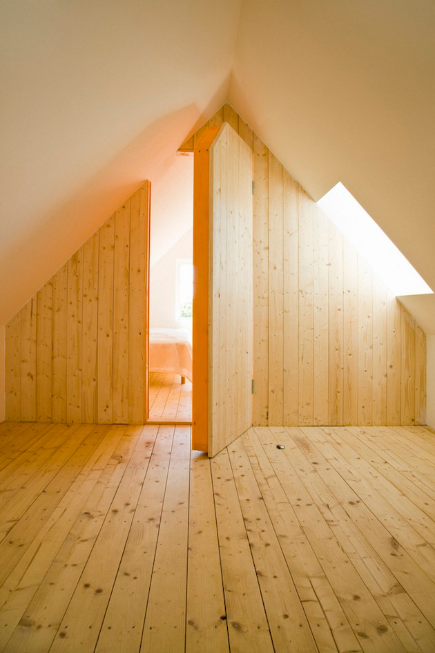 attic space with secret room